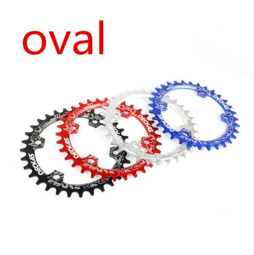 DECKAS oval 96BCD 32T34T36T38T MTB chain ring Mountain bike bicycle ccrankset plate chainring  for 7-11Speed M7000 M8000 M9000