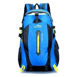 Travel Climbing Backpacks Men Travel Bags Waterproof 40L Hiking Backpacks Outdoor Camping Backpack Sport Bag Men Backpack
