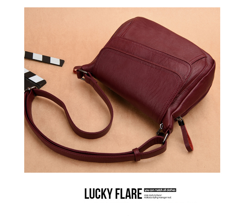 Summer Style Soft Leather Luxury Handbags Women Bags Designer Woman Messenger Shoulder Crossbody Bags For Women 2020 Sac A Main