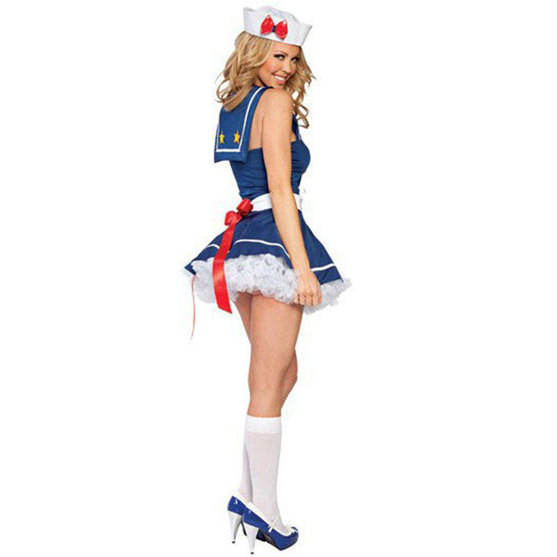 Sweetheart Sailor Costume Adult Navy Fancy Dress Sexy Halloween Carnival Disfraz Womens Cosplay Outfit-in Sexy Costumes from Novelty u0026 Special Use on ...  sc 1 st  AliExpress.com : womans sailor costume  - Germanpascual.Com