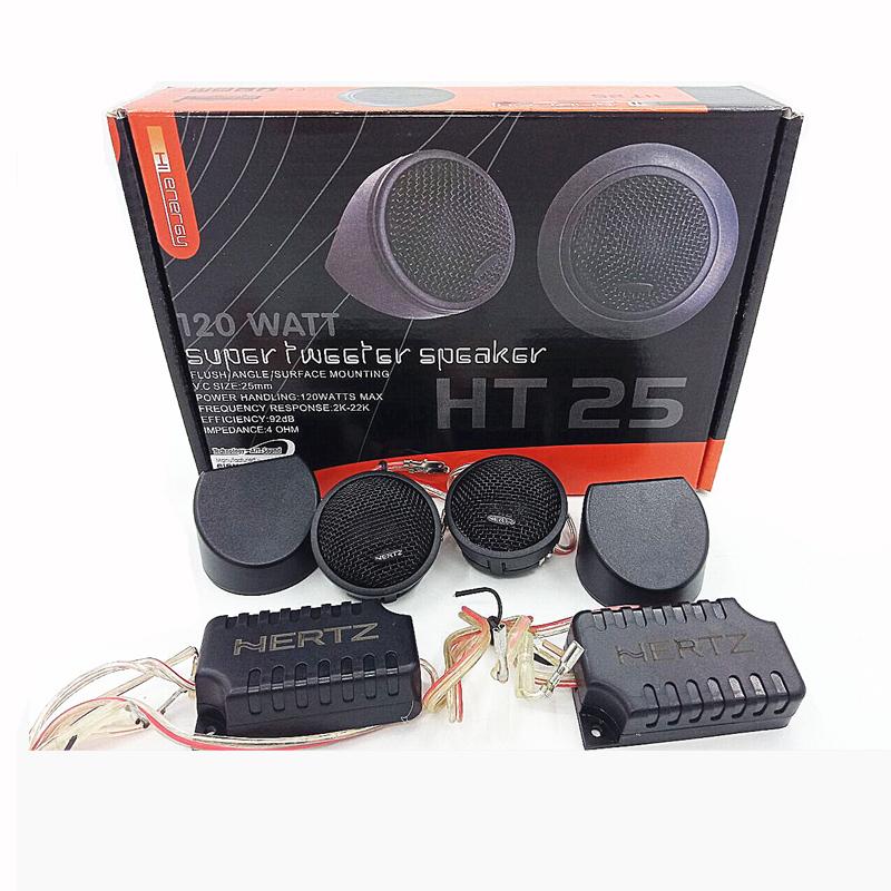 Speaker Component High Power 120W Car Speaker Stereo Dome Tweeter Car Speakers Haut Parleur Voiture Crossover Divider