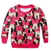 Г. Весеннее Новое поступление, худи для мальчиков и девочек, махровый свитер футболка с длинными рукавами с героями мультфильмов, свитшоты трикотажная одежда для малышей