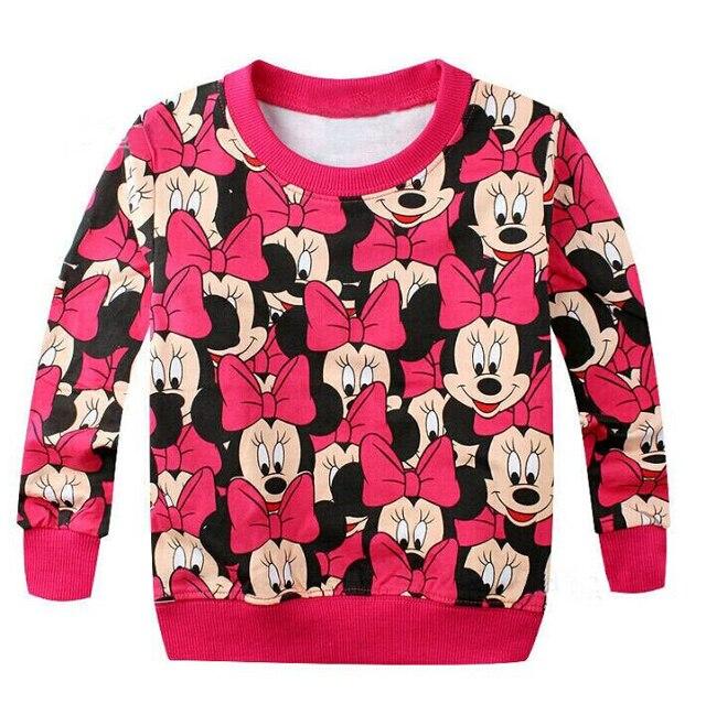 2017 Spring New Arrival Baby Girls boys hoody terry sweater cartoon long sleeve t shirt Sweatshirts jerseys baby kids clothes