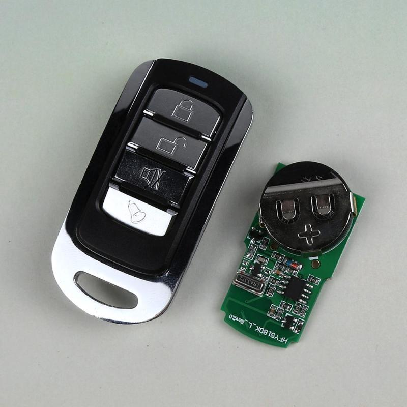 Wireless 433MHz 4 Channel Remote Control Copying Transmitter Duplicating Cloning Learning Code 1527 Key Fob Garage Door Opener
