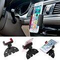 360 ranura reproductor de cd de coche universal auto de múltiples funciones de rotación horquilla del montaje del soporte para teléfono car styling accesorios para iphone