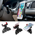 360 rotação universal multifuncional auto car cd player slot mount cradle phone holder car styling acessórios para o iphone