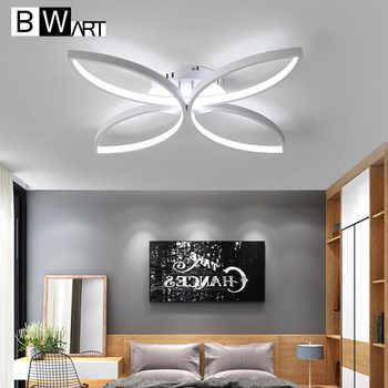 BWART modern led chandelier for living room bedroom aluminum body remote control home chandelier lighting lamp fixture ZX8027