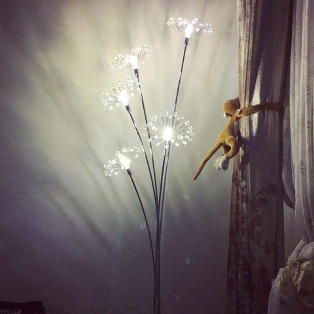 Bon Nouveau Lampadaire Moderne En Cristal Pour Salon Fleur Décoratif En Acier  LED Lampes Sur Pied Chambre Classique Lumière Par Italie Designer Dans  Lampadaires ...