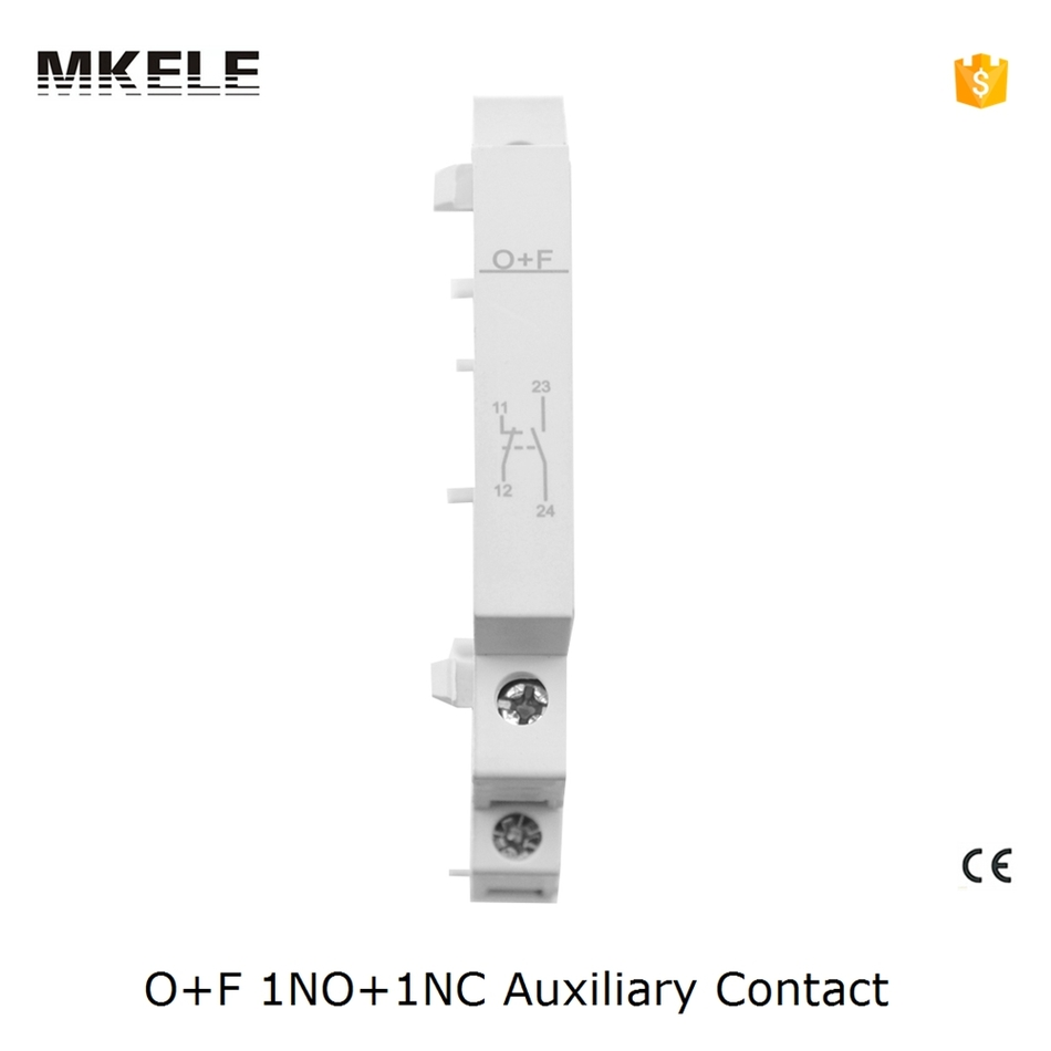цена на O+F Ct Contactor 1no+1nc Ac Contactor Silver Electrical Contact For Contactor Household Auxiliary Contator