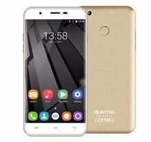 Оригинал Oukitel U7 Плюс Android 6.0 MTK6737 Quad Core 4 Г LTE смартфон 5.5 «HD 2 ГБ + 16 ГБ 13.0MP Отпечатков Пальцев ID Мобильный Телефон