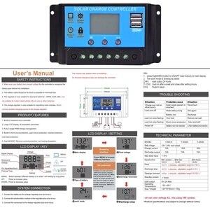 Image 4 - kit solaire 100 W flexible panneau solaire kit 12v 100 watt 120w 200w systeme solaire pour la maison Yacht RV caravane cabine bateau et 12v chargeur de batterie