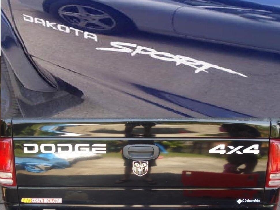 Dodge Truck Dakota Sport Stickers Vehicle Vinyl side stickers Dodge stickers
