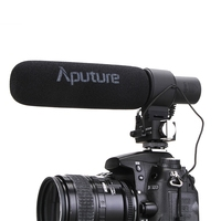 Aputure V MIC D2 Регулируемая чувствительность Направленного Конденсаторный Микрофон для Nikon D3300/Canon DSLR Камера/видеокамеры