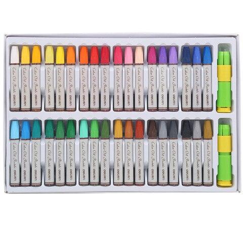 36 cores caixa de cor desenho pastel pasteis de oleo para estudante da escola de