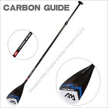 Aqua marina guía de fibra de carbon paddle paddle sup stand el tablero de paleta para tablas de surf remo ajustable 180-210 cm T mango