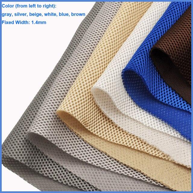 Prata/vermelho/branco/azul/preto/bege/rosa/marrom/amarelo alto falante pano de poeira grade filtro tecido malha alto falante pano de malha 1.4x0.5m