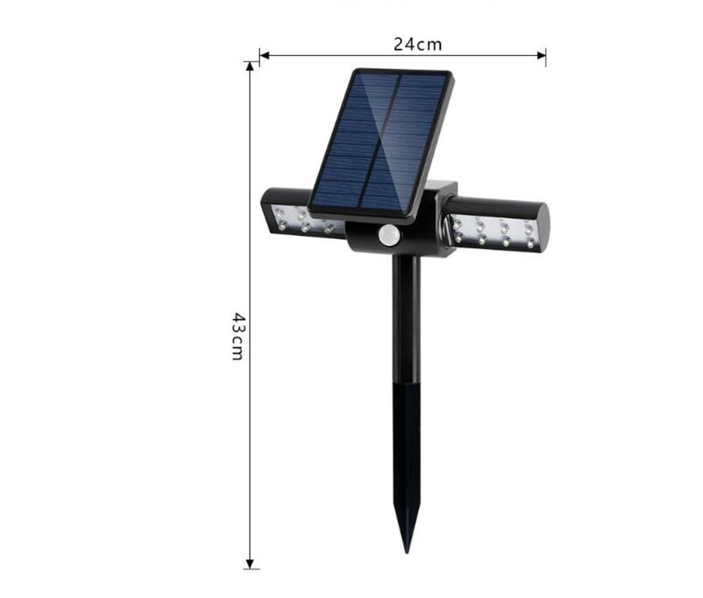 Rua de Energia Solar Light Sensor de