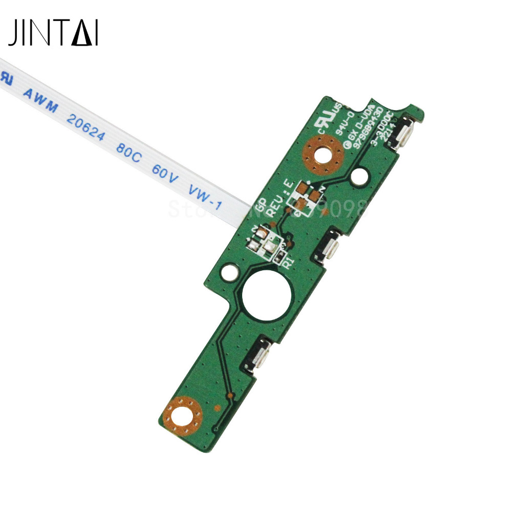 JINTAI Power Button switch ON-OFF Board W/ CABLE FOR Toshiba Satellite  P55W-B5318 P55W-B5318D P55W-B5380SM PSVP2M PSVP2U b p r d hell on earth volume 8 lake of fire
