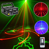 2017 Newest Christmas Laser Projector 80 Patterns Stage Effect Disco Lights For Home Music Star Laser