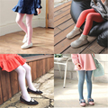 Spring Autumn Candy Color Children Tights For Baby Pantyhose Girl Soft Cotton Kids Tights Stockings Pantyhose Cute 70D0652