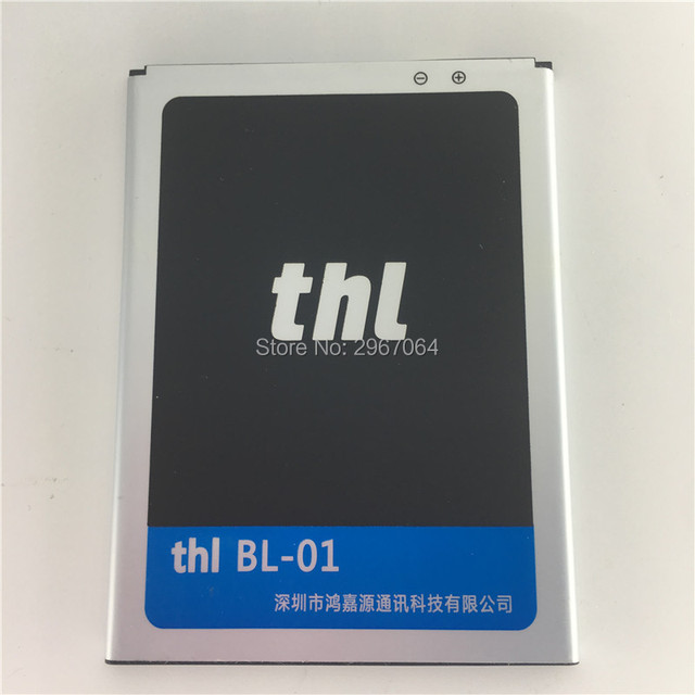 Mobile phone battery THL BL-01 battery for T200 T200C 2500mAh Long standby time THL phone battery Original battery