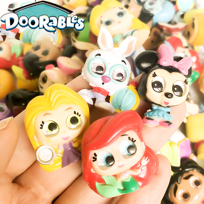 FGHGF Doorables Series 1 & Series 2 Princess Doll Mickey Rare Collection Kid Toy MINI SIZE  Y19052103