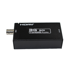 1 Piece Mini 3G SDI to HDMI Video Audio Converter Adapter & DC 5V 1A Adapte (NO voice)