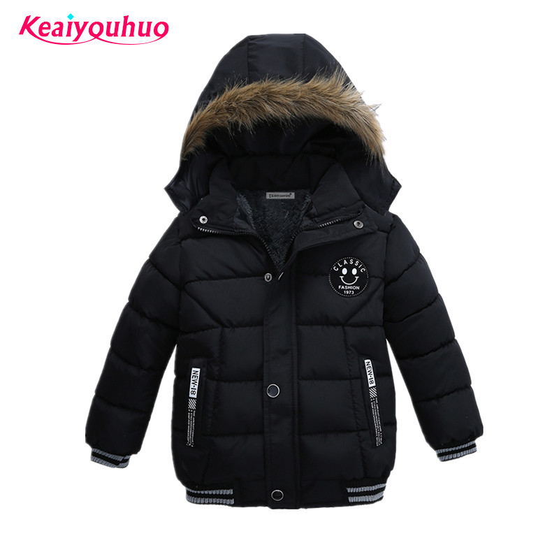 Baby <font><b>Boys</b></font> Coat 2017 Winter Jacket For <font><b>Boys</b></font> Fashion Hoodies Children Coat <font><b>Boys</b></font> clothes Jackets Warm Outerwear for kids clothing