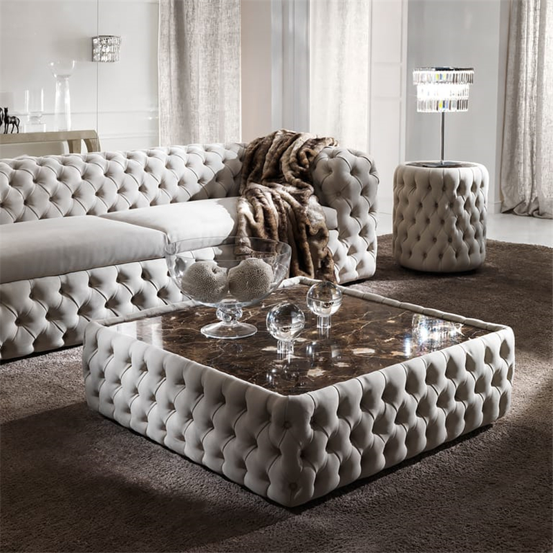 luxury modern button upholstered tufted