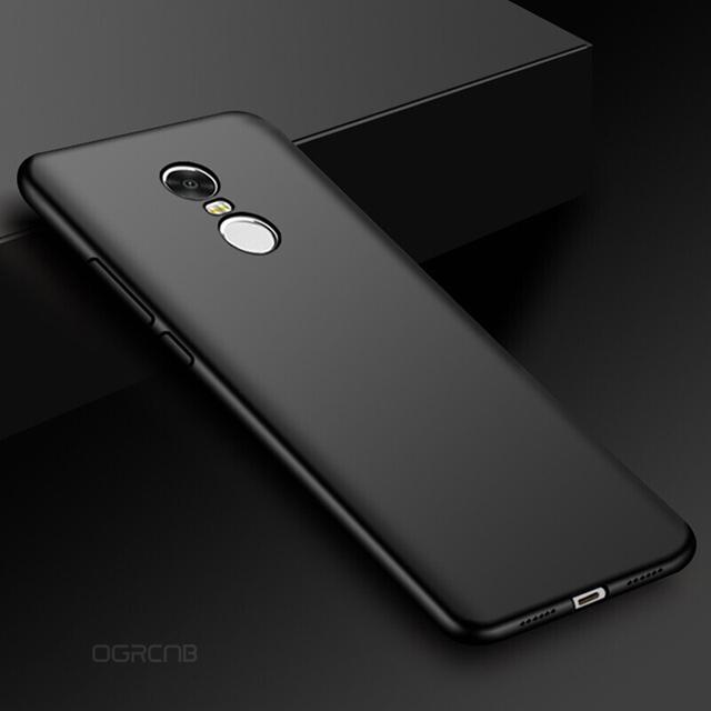 para Xiaomi Redmi Note Global funda de teléfono de silicona suave mate de lujo para Xiaomi Redmi Note 4X funda para Xiaomi Redmi Note 4X Note4 4 versión