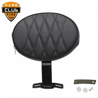 Motorcycle Adjustable Motorcycle Plug In Driver Rider Backrest Kit for Harley Fatboy Fat boy Softail 2007 2017