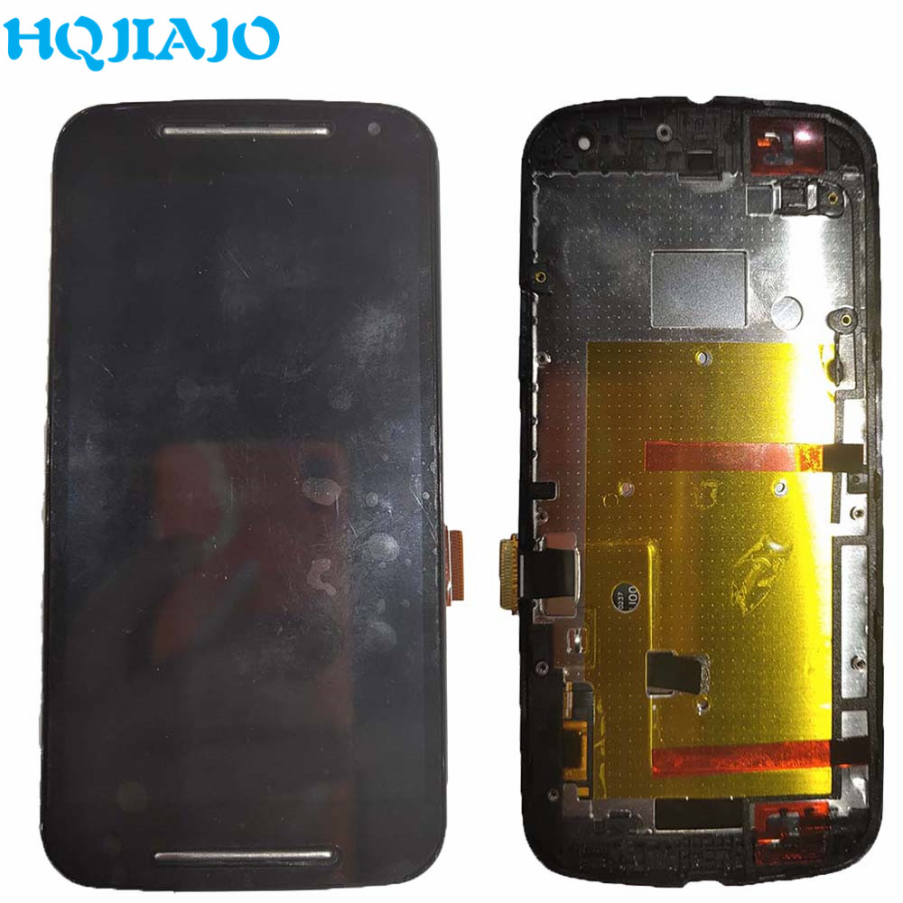 100% Test LCD <font><b>Display</b></font> Screen For <font><b>Motorola</b></font> MOTO G2 G+1 LCD <font><b>Display</b></font> Touch Screen Digitizer For Moto G 2nd G+1 XT1063 XT1069 <font><b>XT1068</b></font> image