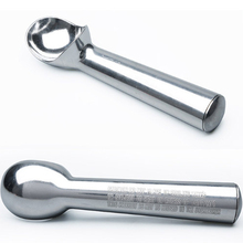 1.5 / 2 Oz Stainless Steel Ice Cream Scoop Portable Aluminum Alloy Non-stick Antifreeze Kitchen Accessories