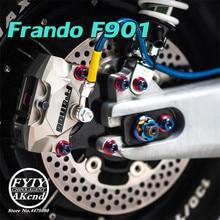 Universel frando moto 84mm arrière CNC étrier de frein pour Piaggio vespa GTS GTV 300 Sprint 150 primavera 150