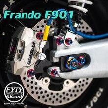 العالمي frando دراجة نارية 84 مللي متر الخلفية CNC الفرامل الفرجار ل بياجيو فيسبا GTS GTV 300 سبرينت 150 بريمافيرا 150