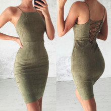 2018 Sexy Bare shoulder Lace Party Dress Women Hollow Out Nude Illusion  Dresses Ladies Sleeveless Midi Beach Dress