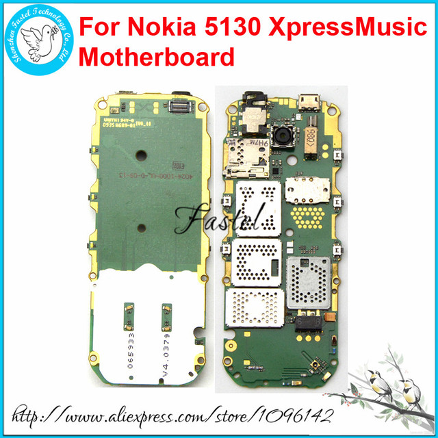For Nokia 5130 XpressMusic Unlocked Origianl Mobile Phone Cell Phone  motherboard Circuits main logic board + Russian language-in Circuits from  Phones