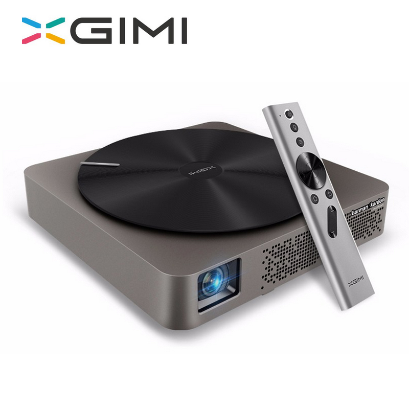 XGIMI Z4 Aurora projector Support 4K 3D intelligent mini portable led dlp projector FULL HD home theater Tv cinema for business free shipping one pair copper colour max series gold plated hi end us ac plug