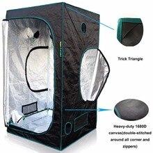 1680D Marshydro LED grow tent 145*145*200 cm para Hidroponía, Caja de Crecer, LLEVADOS Crecen Sistema