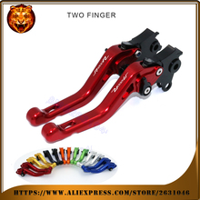 Motorcycle Adjustable Short Brake Clutch Levers For BMW R1200R R1200 2015 2016 2017 BLACK Blue With Logo High Quality CNC Red