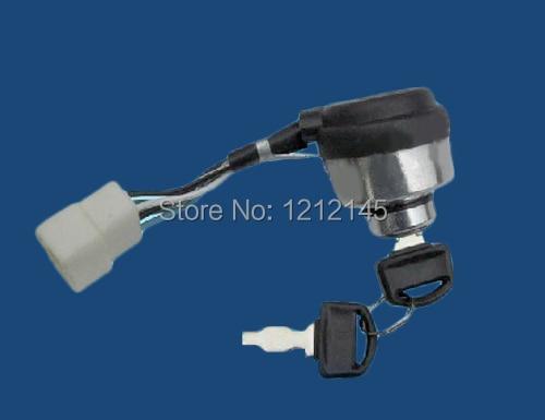 168F 170F Generator Start Lock and Key  Parts Accessory168F 170F Generator Start Lock and Key  Parts Accessory