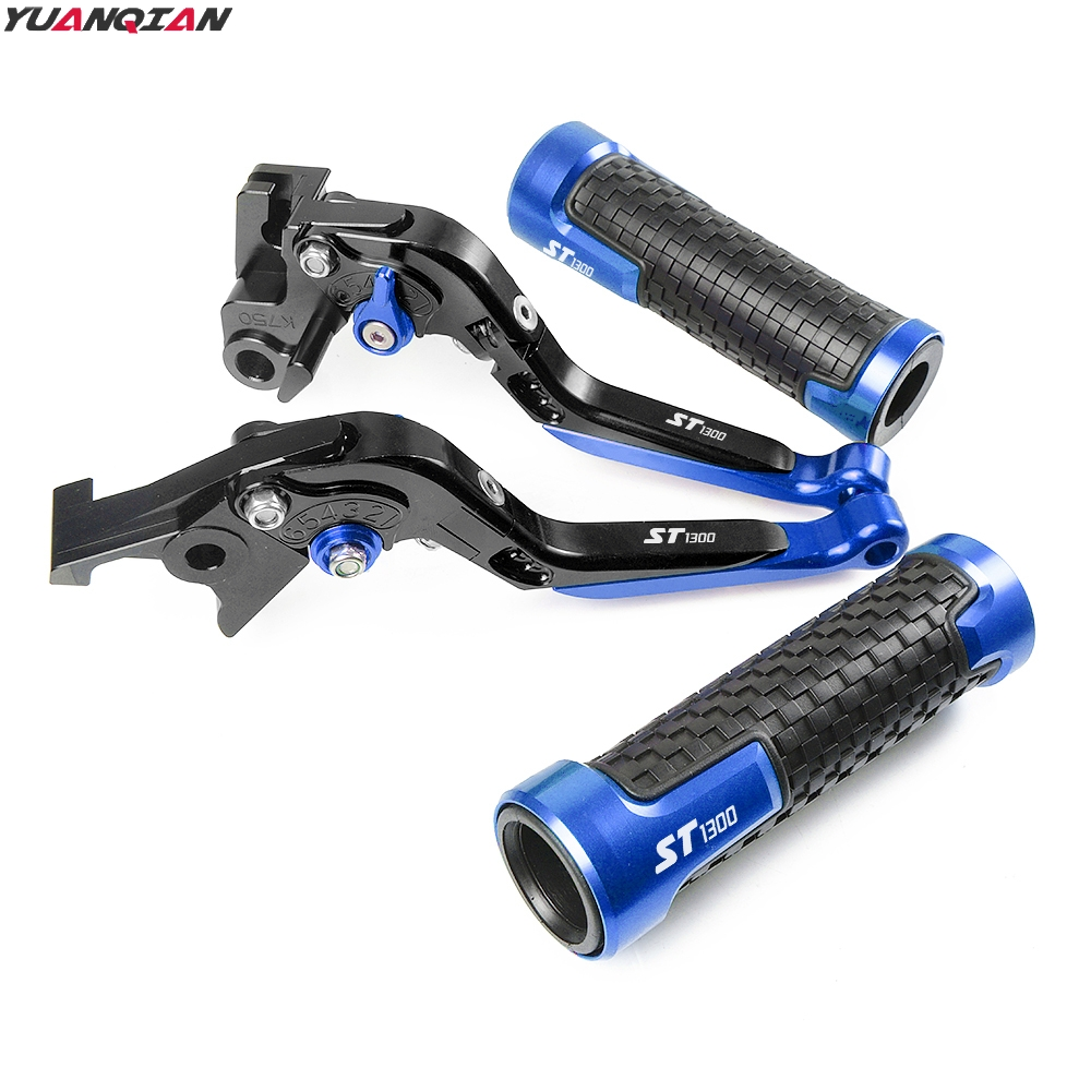 Image 2 - For Honda ST 1300 ST1300 ST 1300 2008 2012 New Motorcycle Adjustable Foldable Extending Brake Clutch Lever Handle Hand Grips-in Covers & Ornamental Mouldings from Automobiles & Motorcycles