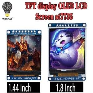 Image 1 - 3.3V 1.44 da 1.8 pollici di Serie 128*128 128*160 65K SPI A Colori TFT IPS LCD bordo del Modulo Sostituire OLED ST7735