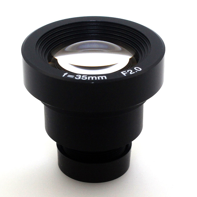 1/3'' 35mm lens F2.0 CCTV MTV Board IR filter Lens for Security CCTV Video Cameras