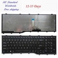UNS Für Fujitsu AH532 A532 N532 NH532 Laptop Tastatur Neue Schwarz Englisch Keine Rahmen
