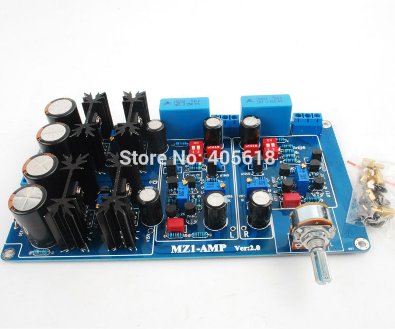 MZ1-AMP Class A preamplifier Pre Amp board Assembled Board Basic on Marantz preamp circuit купить в Москве 2019