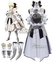 Fate Stay Night Fate Grand Order Sabel Lelie Altria Pendragon Koning Arthur Cosplay Kostuum E001
