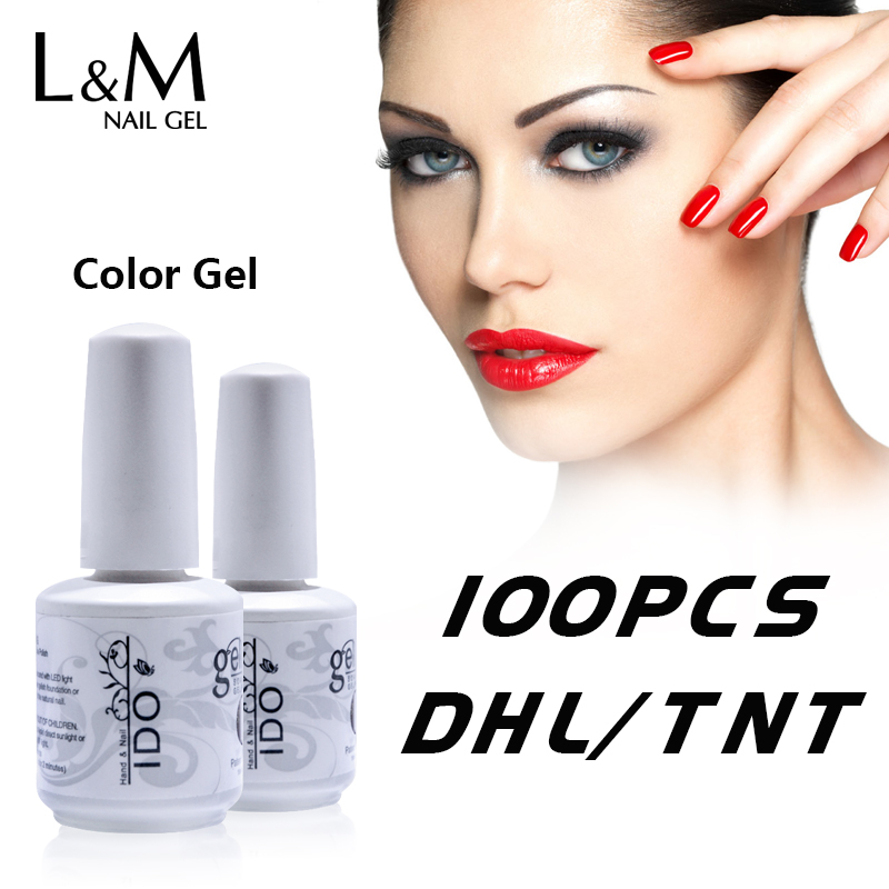 100 Pcs Lot  Wholesale IDO Uv Led Nail Gel Polish Primer Nails 15ml Uv Nail Supplier Good Quality Chinese Factory Wholesale-in Nail Gel from Beauty & Health