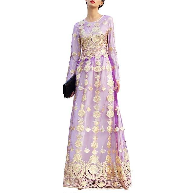Pettigirl European Boutique Womens High Waist Elegant Sequin Fit-and-Flare Cocktail Party Maxi Long Dress Vestidos