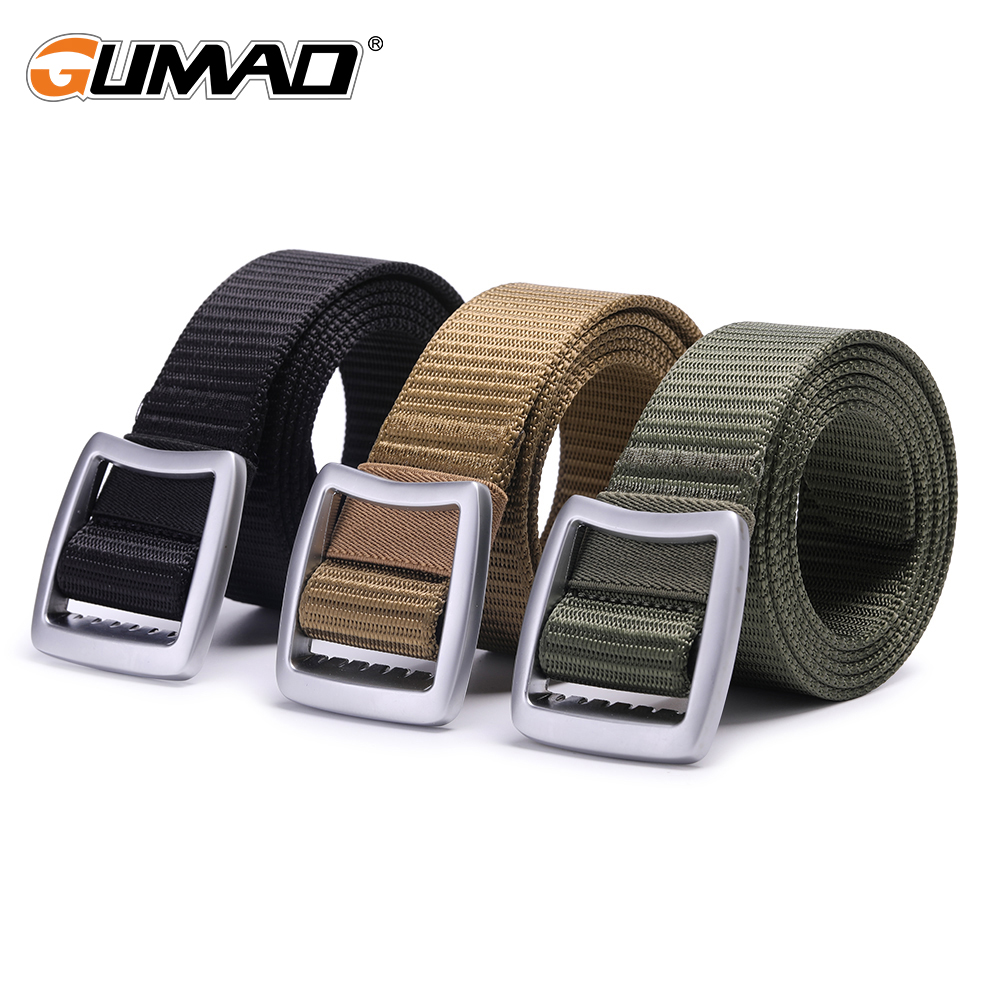 Outdoor Non Slip Tactical Belt Military Thicken Nylon Waist Support Strap Sports Hunting Training Hiking Army Waistban Molle Men in Waist Support from Sports Entertainment